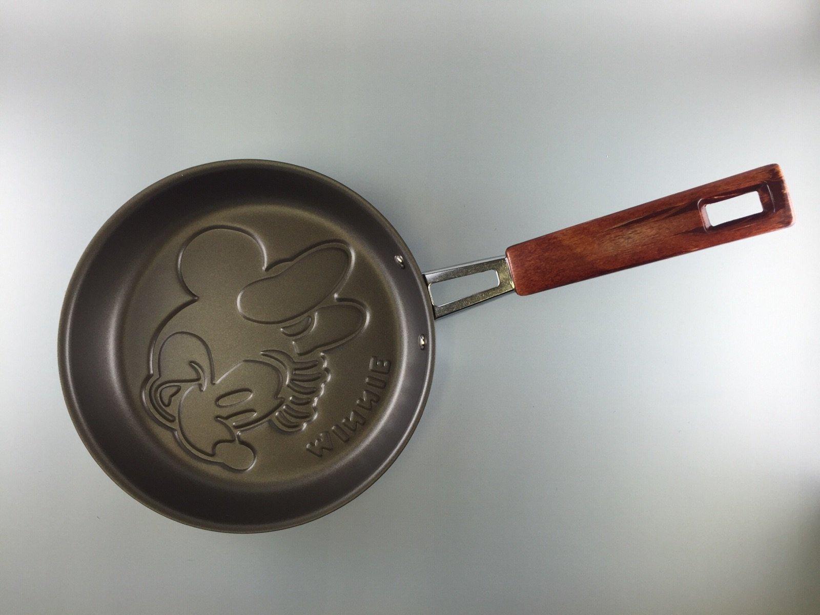 Mickey Mouse Face Shaped Pancake pan Disney From JAPAN