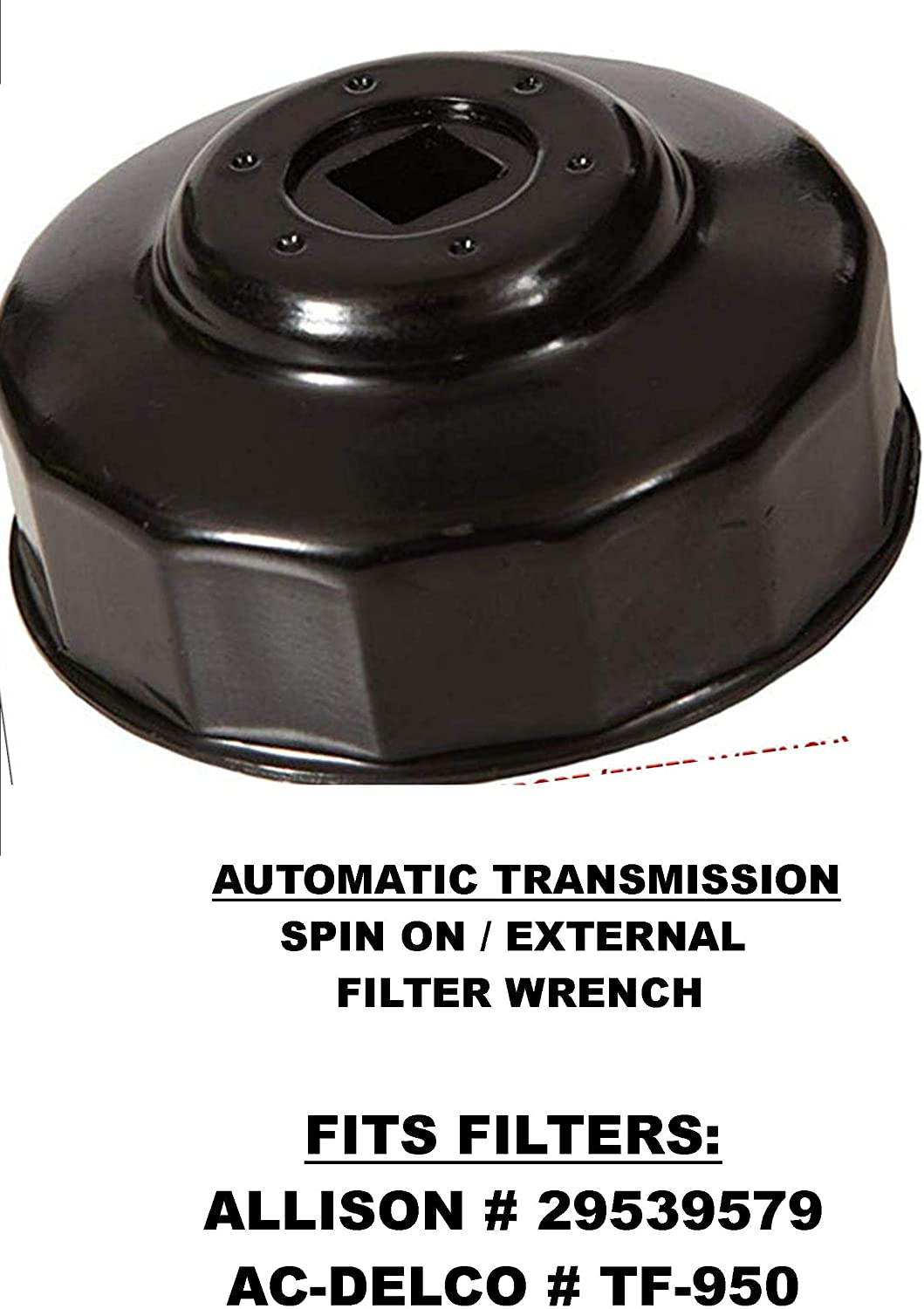 ACDelco TF950 Professional Spin On Automatic Transmission Fluid Filter