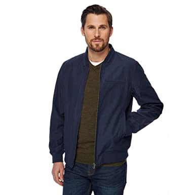 9d53f3caf Debenhams The Collection Men Big and Tall Navy Bomber Jacket: The ...