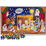 Madelaine Chocolate Christmas Pageant 2020 Christmas Countdown Advent Calendar with 24 Premium Milk Chocolates (8oz…
