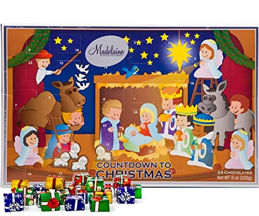 2020 Christmas Candy Countdown Calendar Amazon.: Madelaine Chocolate Christmas Pageant 2020 Christmas