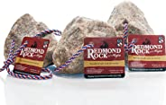 REDMOND - Rock on a Rope Unrefined Salt Rock for Horses 3 to 5 lbs (3 Pack)