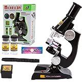 Microscope Enfant, EgoEra® 100x 200x 450x Grossissement Scientifique Enfant Microscope Set Pour Kids étudiants pour l'éducation Précoce