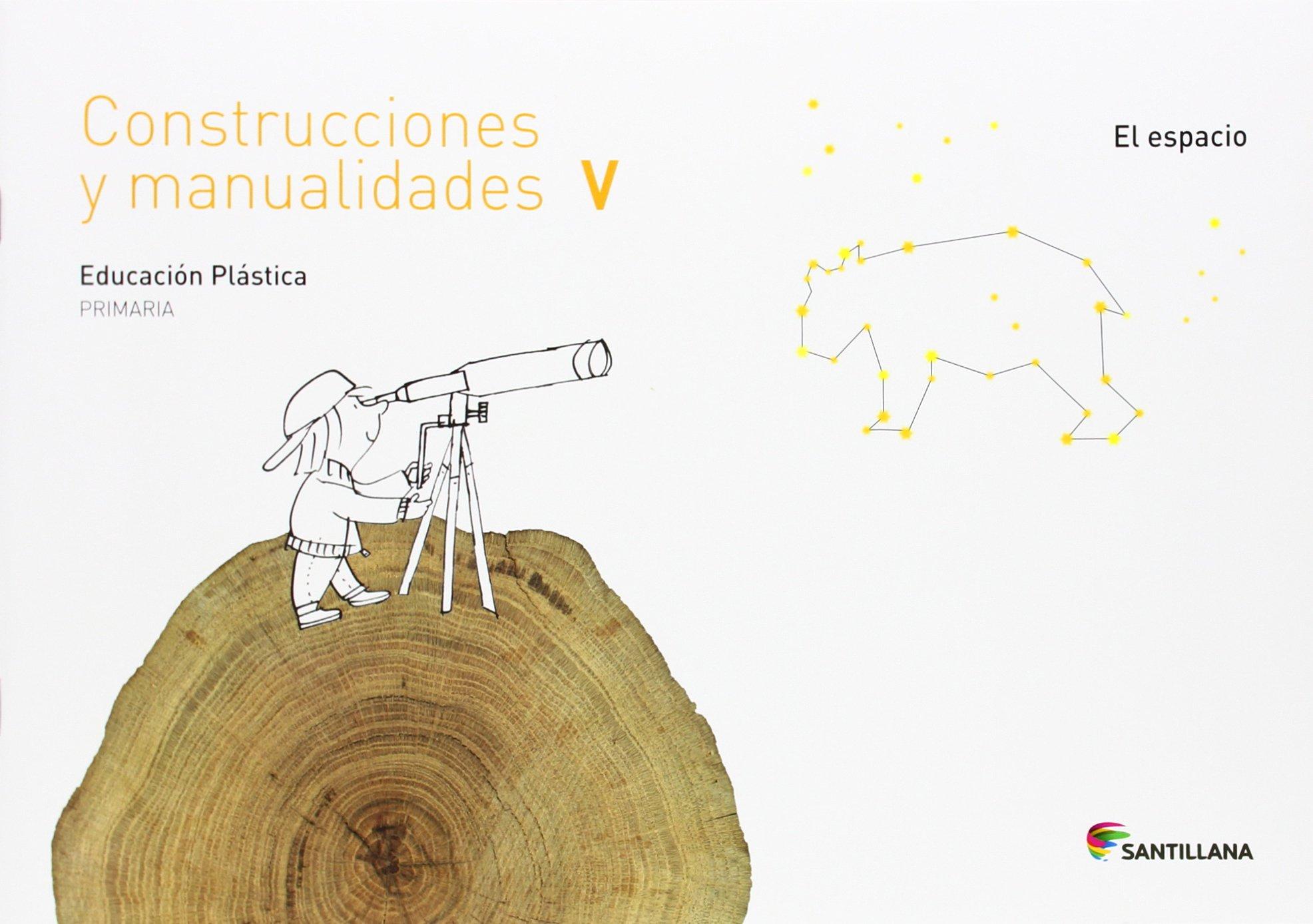 CUADERNO CONSTRUCCIONES Y MANUALIDADES V EL ESPACIO 5 PRIMARIA - 9788468017778