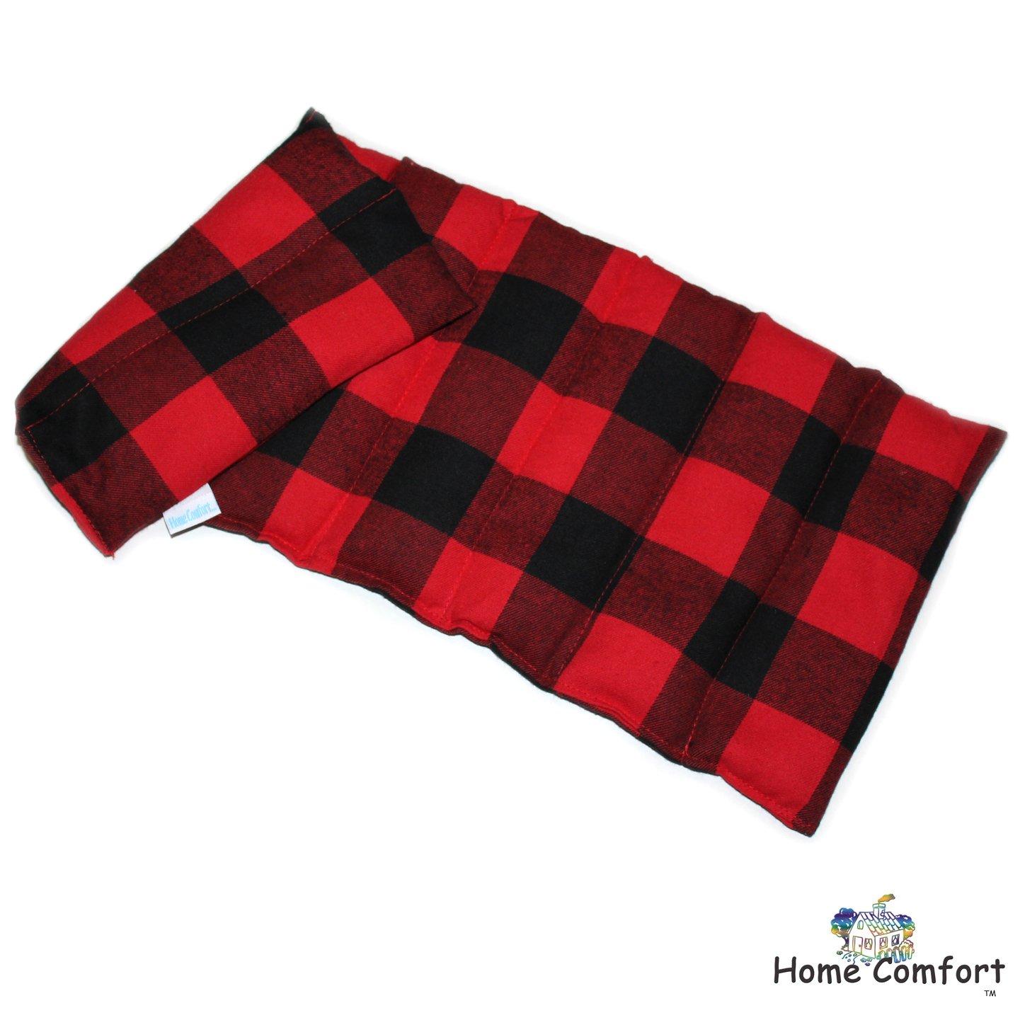 Microwavable Heating Pad (Red Plaid)