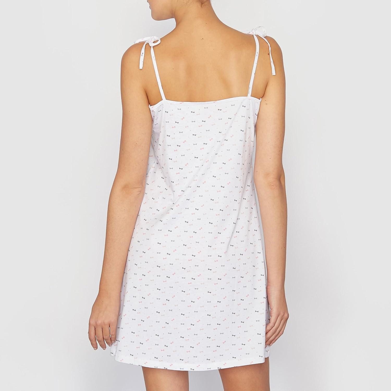 La Redoute - Pijama - para mujer Blanco White With Print: Amazon.es: Ropa y accesorios