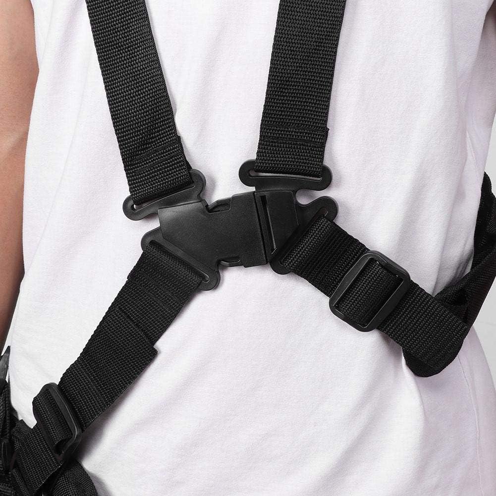 Courroie de s/écateur de jardin /à ceinture en nylon /à double /épaule avec coussin anti-friction pour tondeuses r/épartissez le poids des /épaules et du dos. d/ébroussailleuses et d/ébroussailleuses