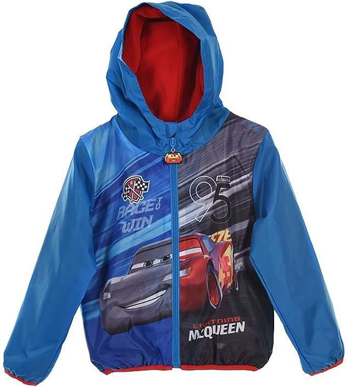 Giubbotto con Interno in Pile Cars 3 4 6 8 Anni Bambino Disney