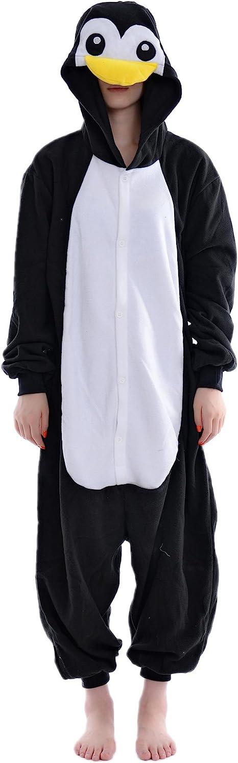 DAYAN Pingüino Unisex Pijamas Adulto Anime Cosplay Ropa ...
