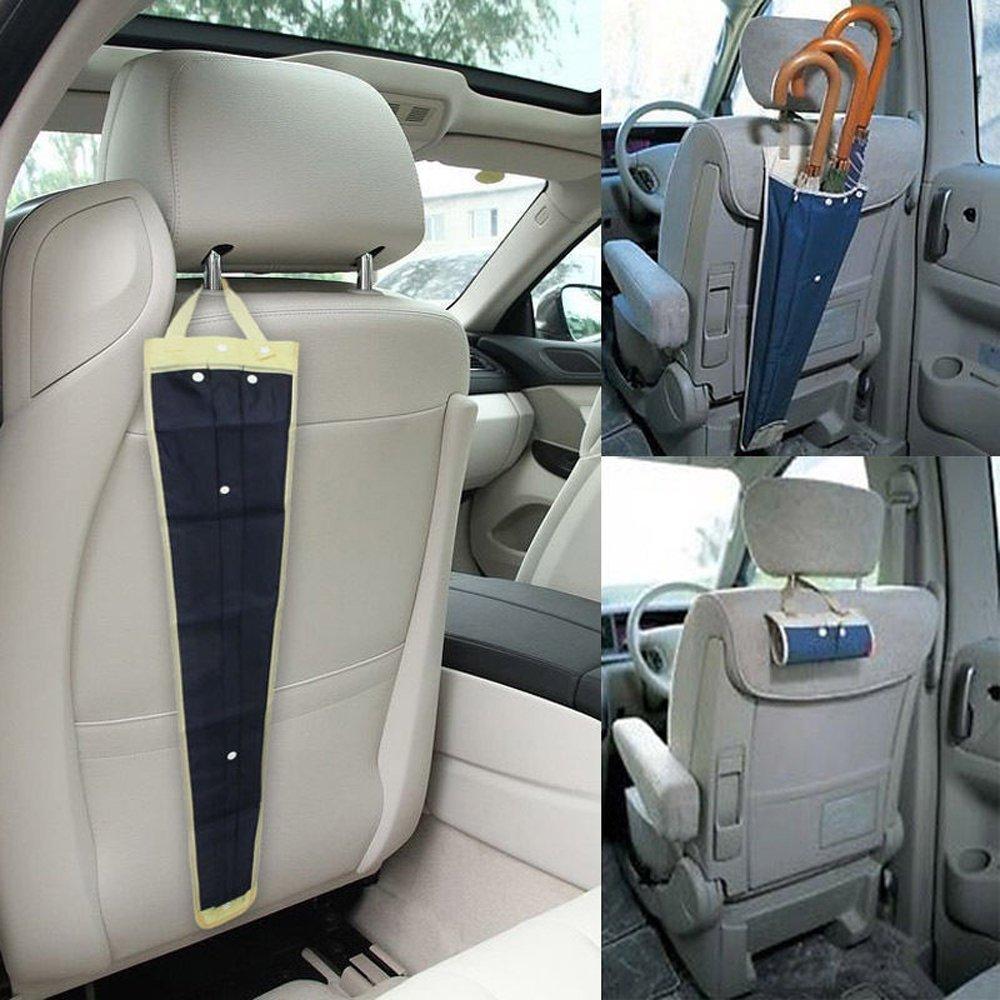 Dealglad® New Car Seat Back-Ombrello pieghevole, con fodera impermeabile, con borsa per trasporto