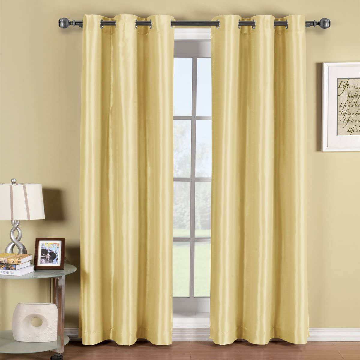 Soho Grommet Blackout Window Curtain Panel by Treasures25