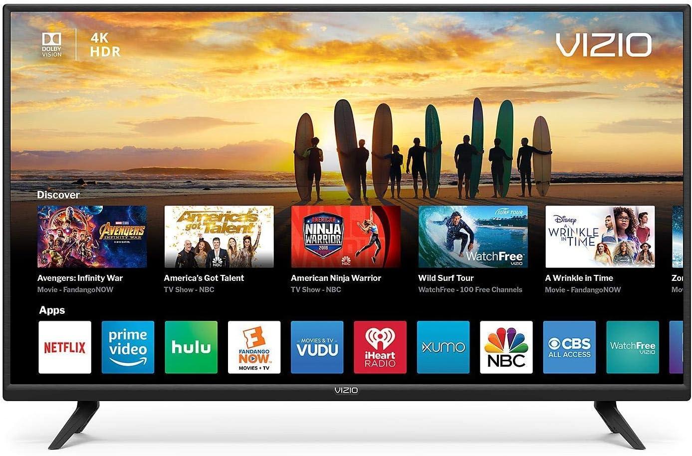 VIZIO V405-G9 40 Inch Class V-Series 4K HDR Smart TV (Renewed)