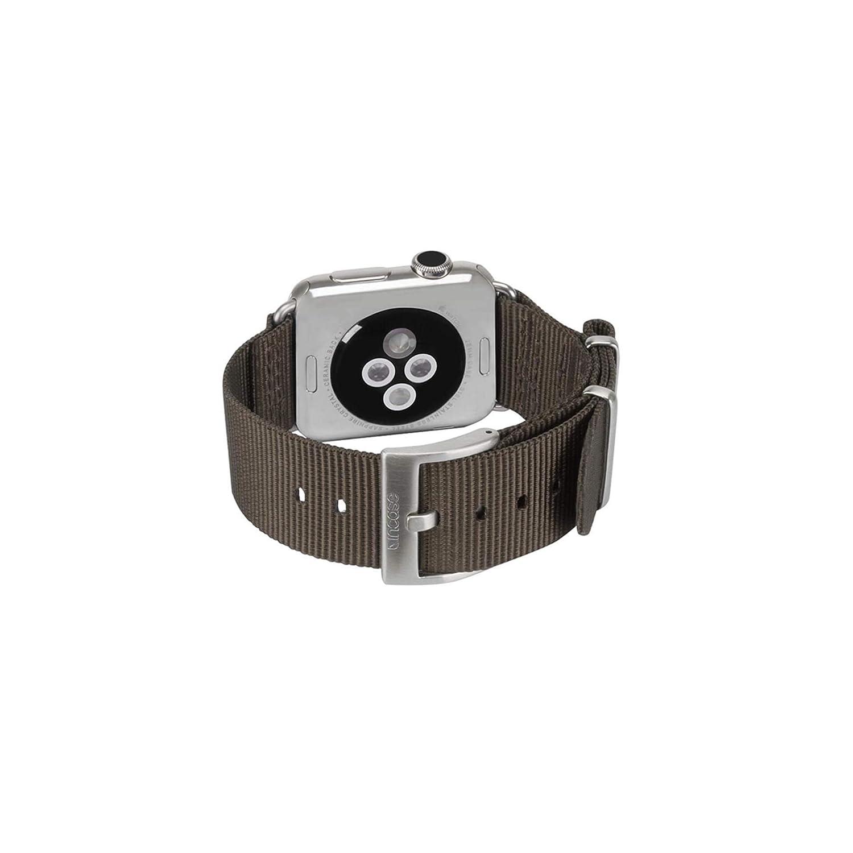 ナイロン素材 NATO ベルト Apple Watch 42mm 42mm INAW10014-BRZ B01LX25CZ8 ダークグレー(anthracite)  ダークグレー(anthracite), 通販カーテン屋 850bfa89