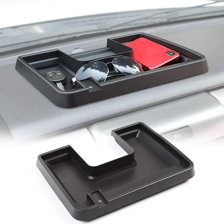 Car Center Console Dashboard Storage Box Console Tray Phone Key Organizer for Ford F150 2009-2014