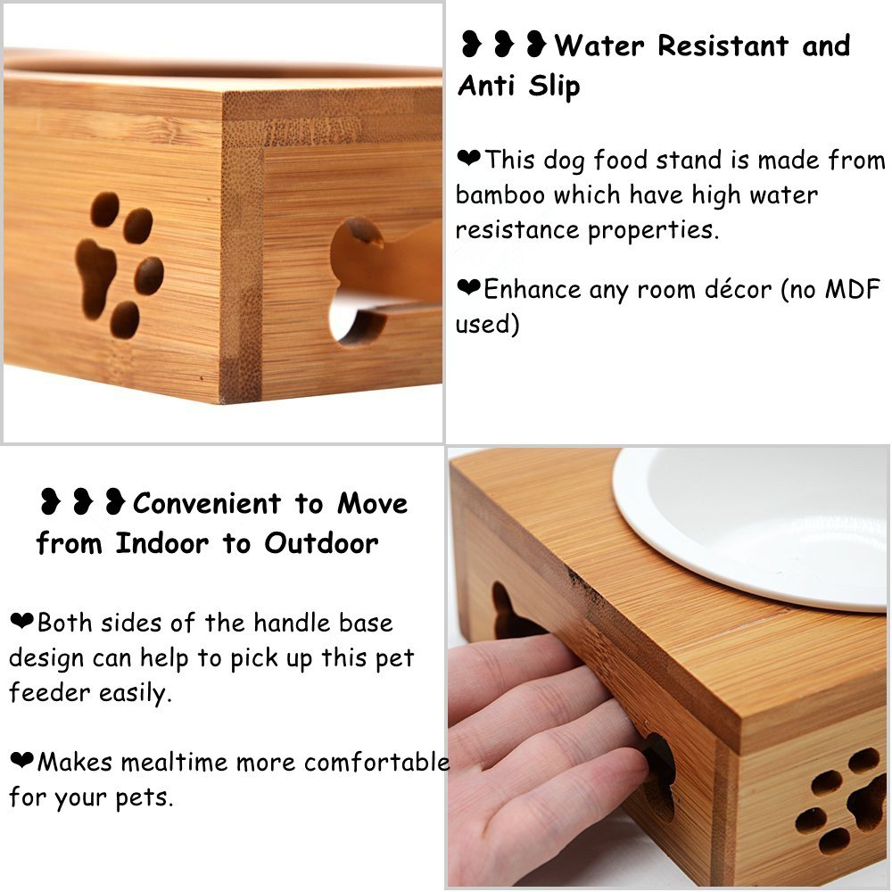 bowls stand basis for dog bowl main rise elevated feeder cat products smlrise pet and small image