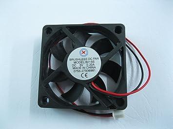 1 Pcs DC Fan 5V 6020 2 Pin 60x60x20mm Brushless DC Cooling Blade Fan