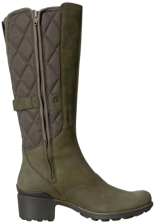 Merrell Women's Chateau Tall Pull Waterproof Snow Boot B01N9I3WHB 11 B(M) US|Dusty Olive