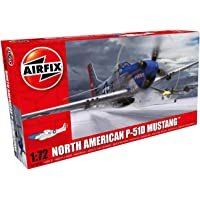 Airfix North American P-51D Mustang - 1:72 Scale Model Kit - New Livery