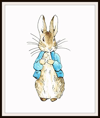 768353e3e Amazon.com: Beatrix Potter Peter Rabbit, Vintage Art Print ...