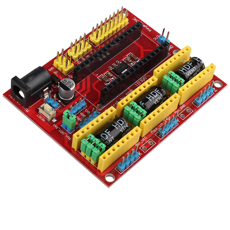 Kit de tablero de expansión de grabado CNC Shield V4 de resina ...