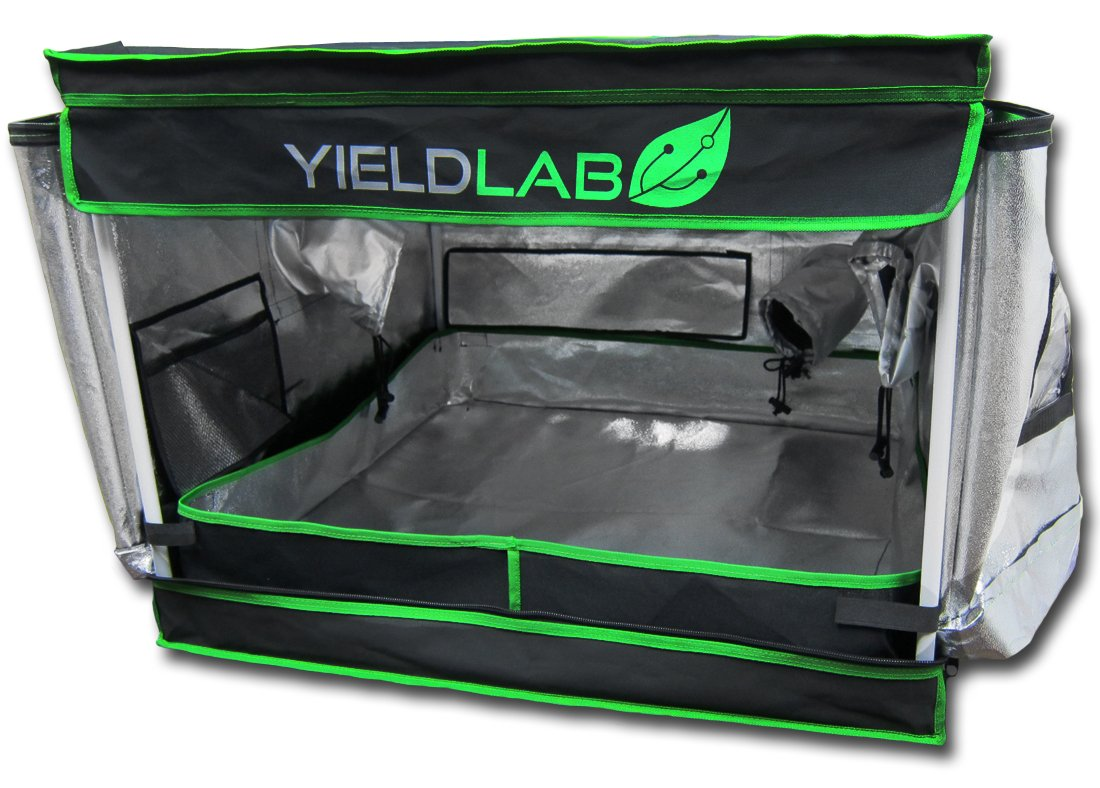 Amazon.com  Yield Lab 32  x 32  x 24  Grow Tent with Viewing Window - For Indoor LED T5 CFL HPS CMH - Hydroponic Aeroponic Horticulture Growing ...  sc 1 st  Amazon.com & Amazon.com : Yield Lab 32