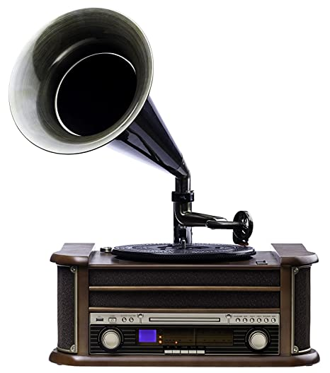 Nostalgie Retro Tocadiscos | Gramófono | equipo estéreo ...