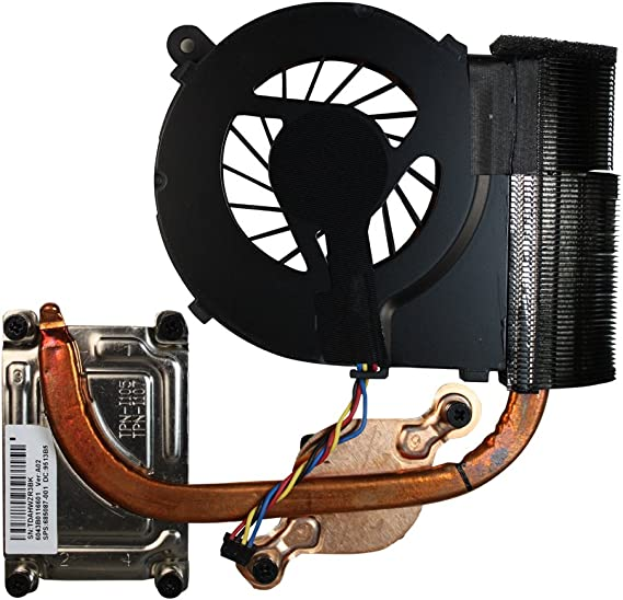 Power4Laptops gráficos Independiente Modelo Ventilador para Ordenadores portátiles con disipador de Calor Compatible con HP Pavilion G6-1214ss: Amazon.es: Electrónica