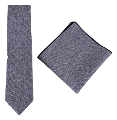 f1fb7ffa11ae9 Image Unavailable. Image not available for. Color: Knightsbridge Neckwear  Mens Speckled Tie and Pocket Square Set - Light Blue