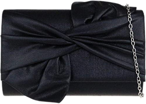 Girly HandBags Big Bow Clutch Bag