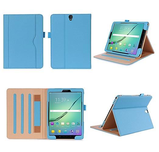 6 opinioni per ISIN Custodia Tablet Serie Premium Pelle PU Stand Cover per Samsung Galaxy Tab
