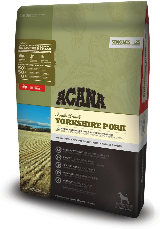 ACANA Yorkshire Pork Comida para Perros - 6000 gr