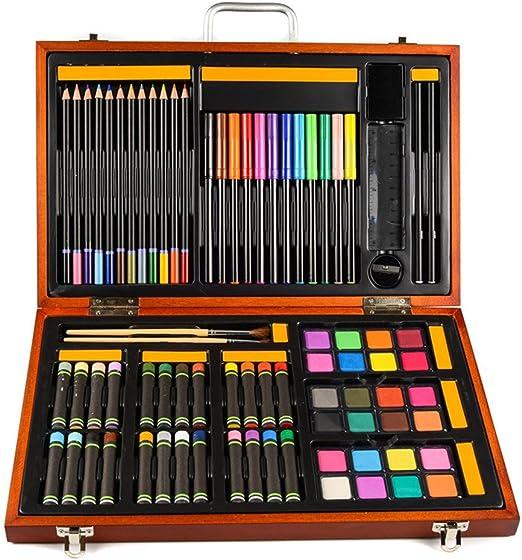 Kanqingqing Caja Colores Niños Almacenamiento de artesanía de Arte ...