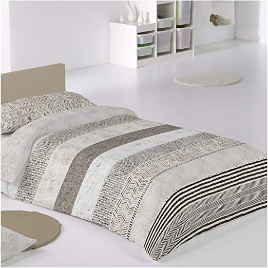COTTON artean Funda Nordica Reversible Mod. Atacama Cama de 200 ...