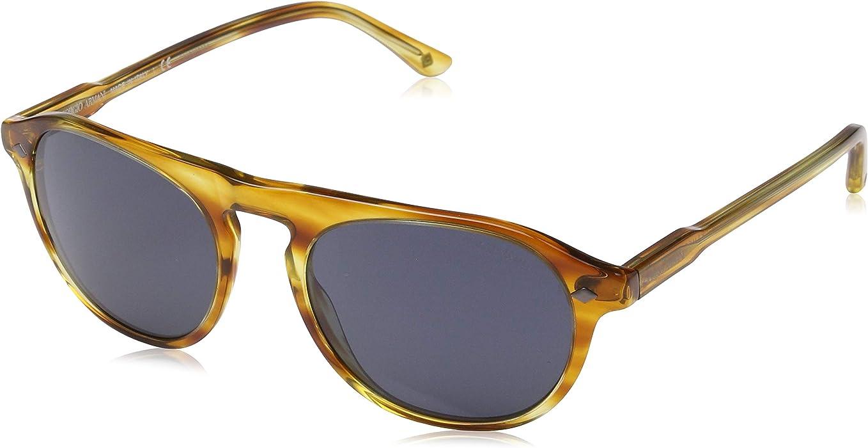 08ef1e7dac78 GIORGIO ARMANI Sunglasses AR8096 5579R5 Striped Straw 53 MM at ...