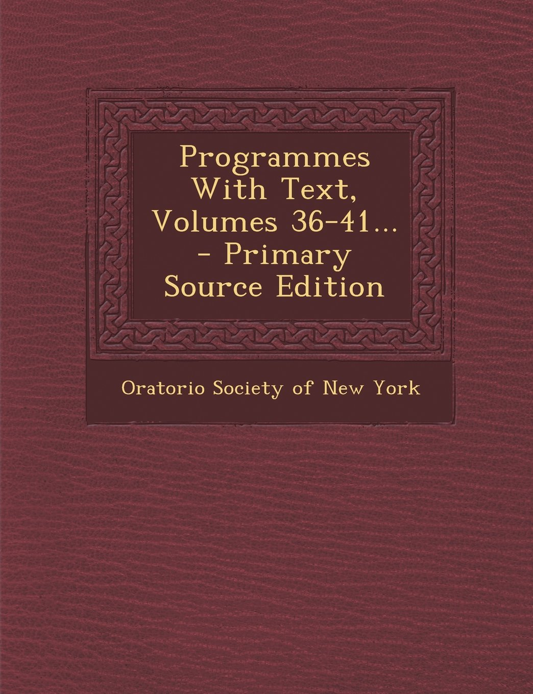 Read Online Programmes With Text, Volumes 36-41... pdf