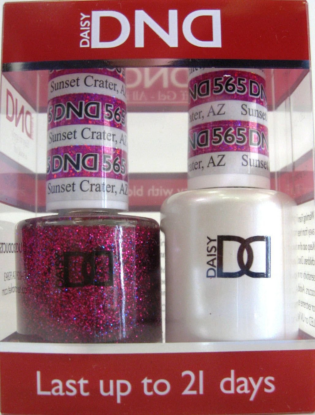 Amazon.com : Daisy DND - Gelcolor and Matching Nail Polish color set ...