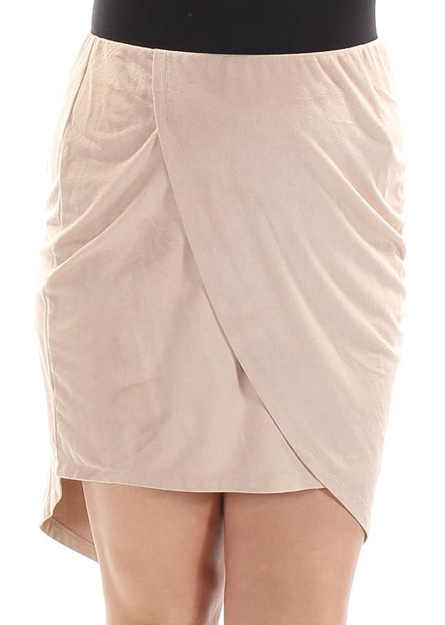 Kensie Falda asimétrica de Ante sintético para Mujer - KS8U6007 ...
