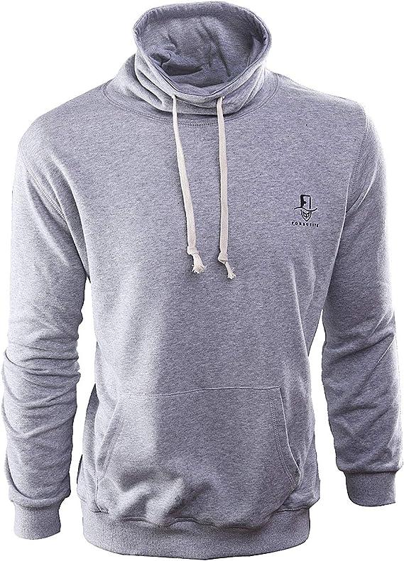 FORBUSITE Mens Hooded Sweatshirt Pullover Hoodies for Men