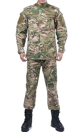 amazon com u s army cp multicam camo acu combat coat pant bdu