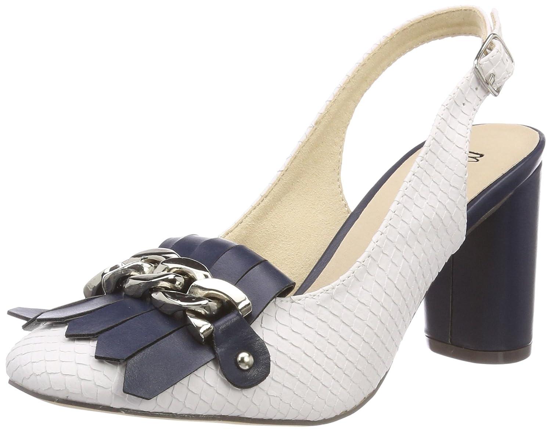 TALLA 39 EU. MENBUR Biaza, Zapatos con Tira de Tobillo para Mujer