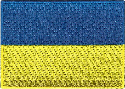 UKRAINE FLAG embroidered iron-on PATCH UKRAINIAN EMBLEM