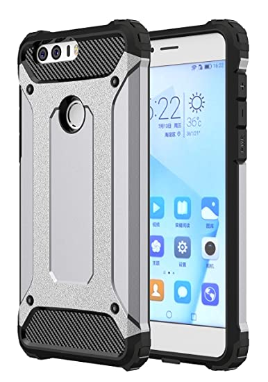 online store 639e7 6a923 HONOR 8 CASE, HUAWEI HONOR 8 CASE, Torryka Premium SLEEK SLIM FIT DURABLE  Anti-scratch Dual Layer Shockproof Dustproof Armor Protective HONOR 8 CASE,  ...