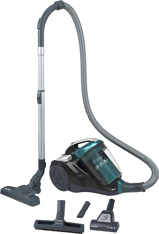 Hoover Chorus CH40PAR - Aspirador sin bolsa, ciclónico, Cepillo suelos parquet, alfombras y suelos duros, Accesorios integrados, 2,5L, Filtro Hepa, Potencia 550W, 78dB, Verde Camaleón: Hoover: Amazon.es: Hogar