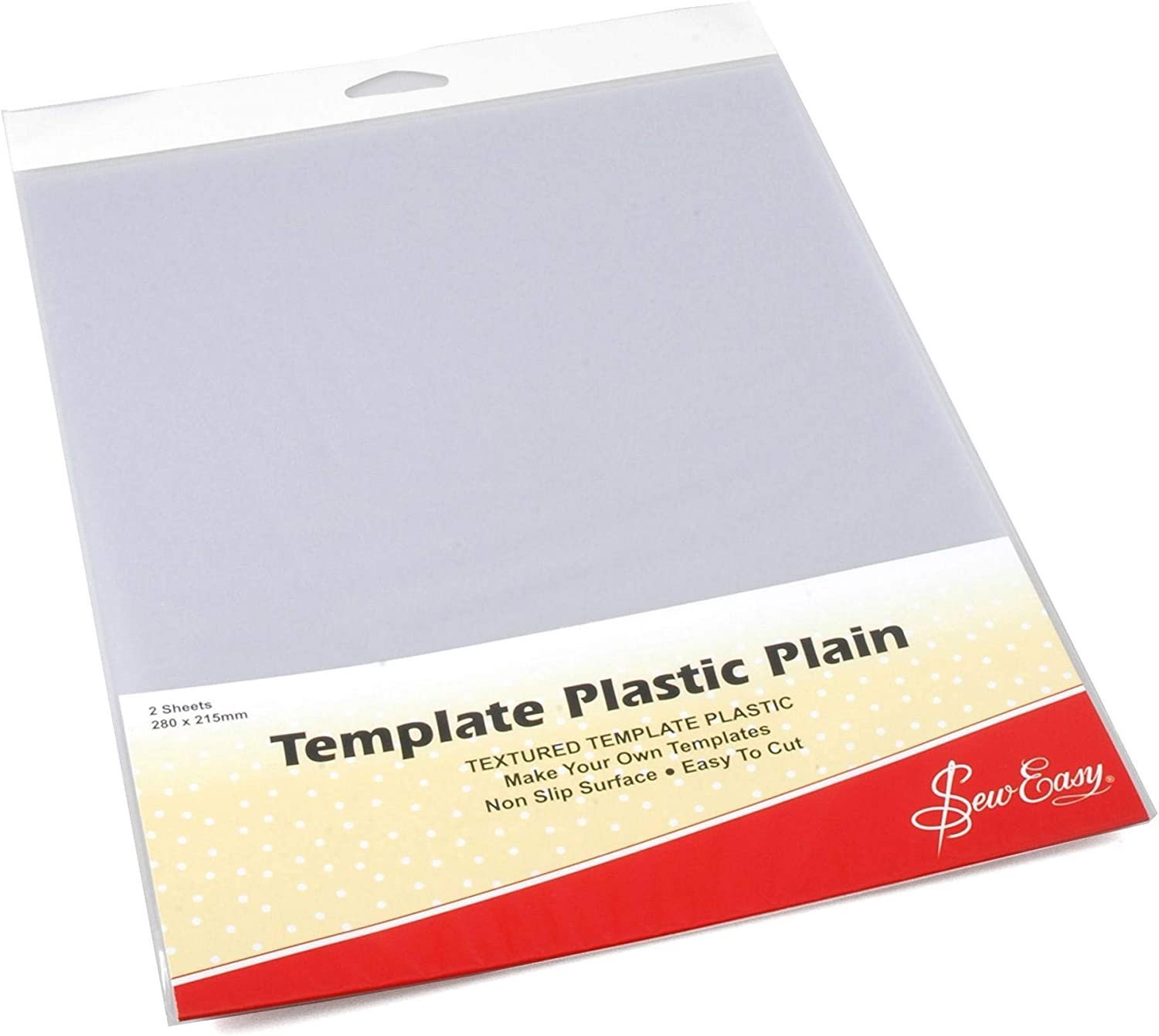 Make Your Own Sew Easy Template Plastic Plain Textured  Non Slip Easy Cut