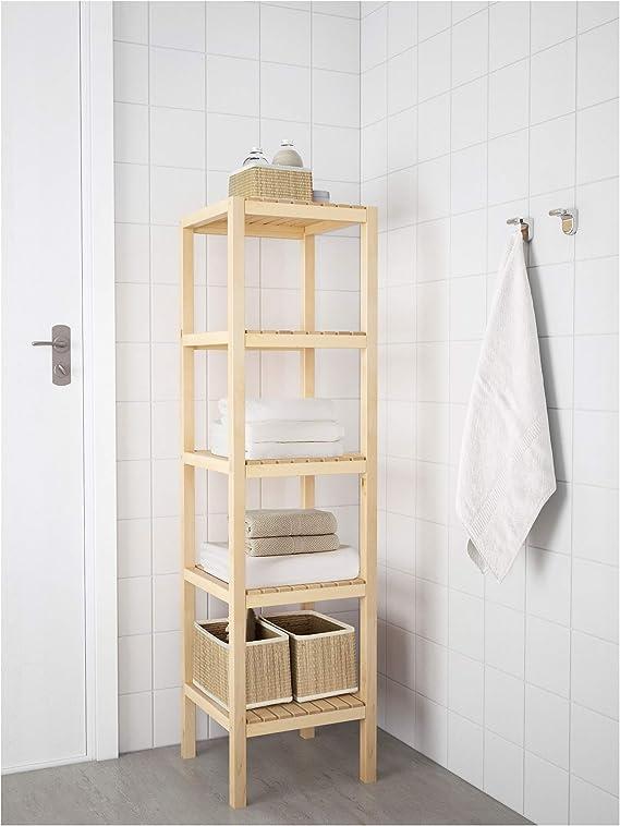 Ikea MOLGER - Estante, diseño de Abedul: Amazon.es: Hogar