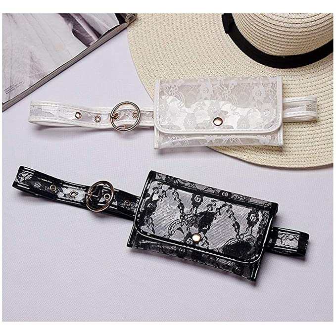 b6b18d02a357 Fashion Luxury Rhinestone Fanny Pack,VITORIA'S GIFT Removable Belt With  MINI Purse Travel Cell Phone Bag