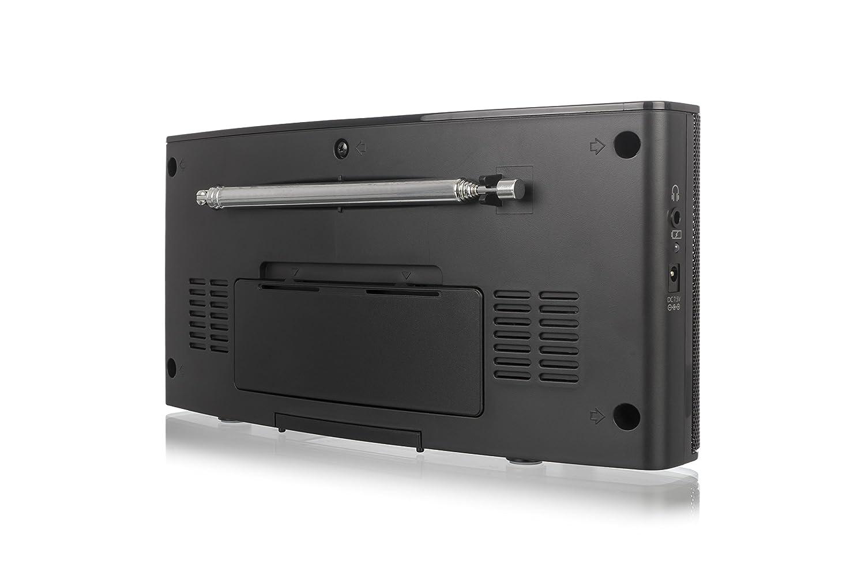 Radio pantalla LCD, DAB, radio FM Philips AE5250//12 negro importado