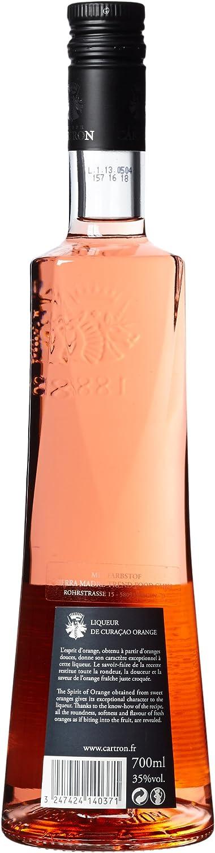 Joseph cartron Curacao Naranja licor (1 x 0,7 l): Amazon.es ...