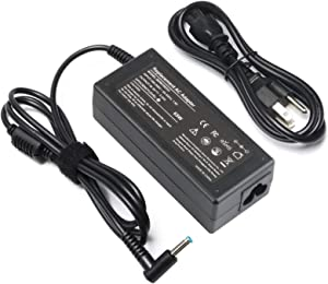 65W AC Adapter for HP Envy 13 15 17 X360 Laptop Charger 15-1039wm 15-1033wm 15-w117cl 15-w237cl 15m-cn0011dx 15m-bp111dx 15m-bq121dx Power Supply Cord