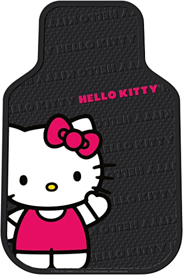 Hello Kitty Car Floor Mat 430 x 400mm Clear 6441-08CL from Japan